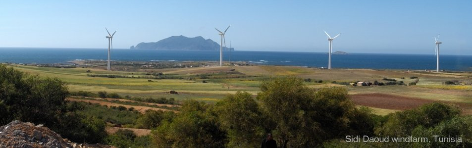 Sidi Daoud windfarm, Tunisia